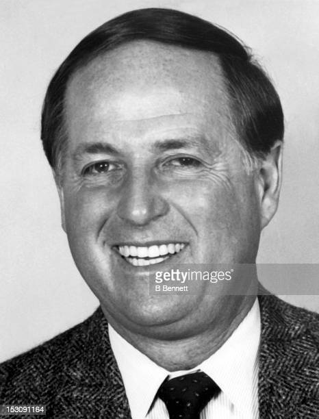 Pat Gillick of the Toronto Blue Jays poses for a portrait in March 1987 in Toronto Ontario Canada