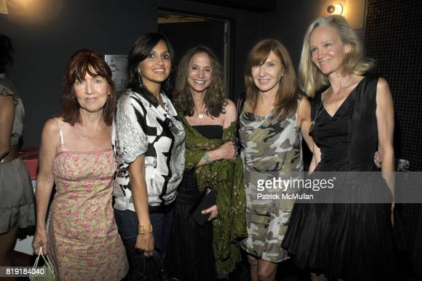Pat Hackett Samira Sine Joanie McDonell Nicole Miller and Laurie Ogle attend THE CINEMA SOCIETY 2IST host a screening of TWELVE at Landmark Sunshine...