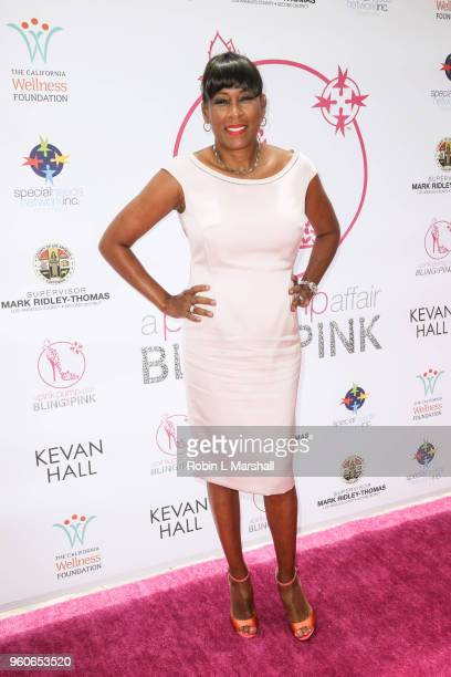 Pat Harvey attends the 10th Annual Pink Pump Affair Charity Gala Fundraiser at The Beverly Hills Hotel on May 20 2018 in Beverly Hills California