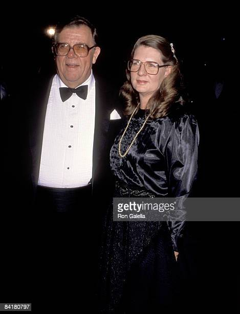 Pat Hingle and wife Julie Wright