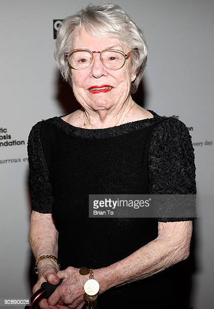 Pat Hitchcock O'Connell attends the Inaugural Alfred Hitchcock Legacy Tribute Gala at The Globe Theatre on November 7, 2009 in Universal City,...