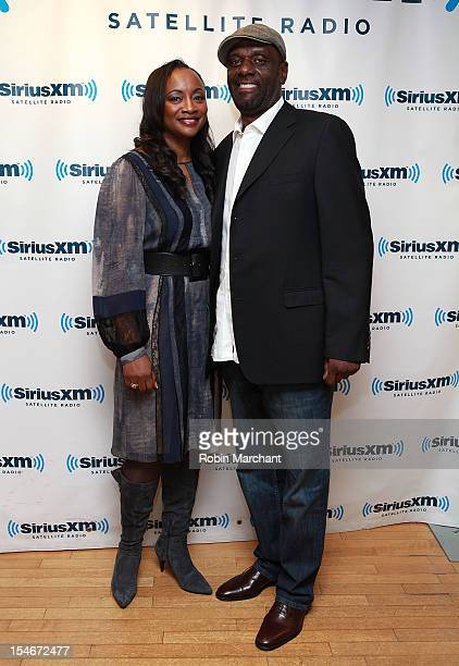 Pat Houston and Gary Houston visit at SiriusXM Studio on October 24 2012 in New York City