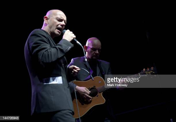 Pat Kane and Greg Kane of Hue and Cry perform on stage at O2 Academy on May 17, 2012 in Bournemouth, United Kingdom.