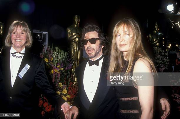 Pat Kingsley and Al Pacino and guest during 66th Annual Academy Awards at Dorothy Chandler Pavillion in Los Angeles, CA, United States.