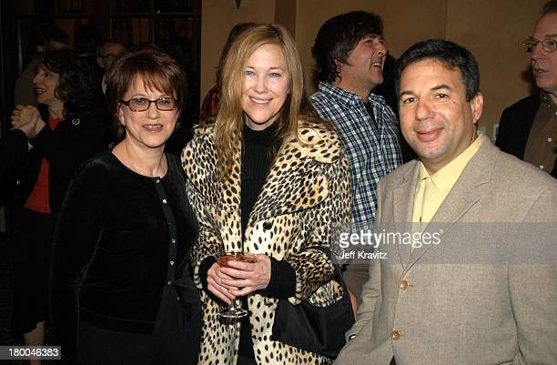 Pat Lee Catherine O'Hara and Stu Smiley during US Comedy Arts Festival Announces Comedy Film Honors at Spago Beverly Hills in Los Angeles California...
