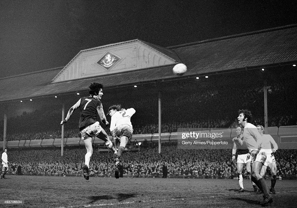 Aston Villa v Manchester United - League Cup Semi-Final 2nd Leg : News Photo