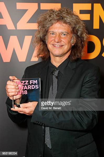 Shoreditch Town Hall: Pat Metheny Attends The Jazz FM Awards 2018 At Shoreditch