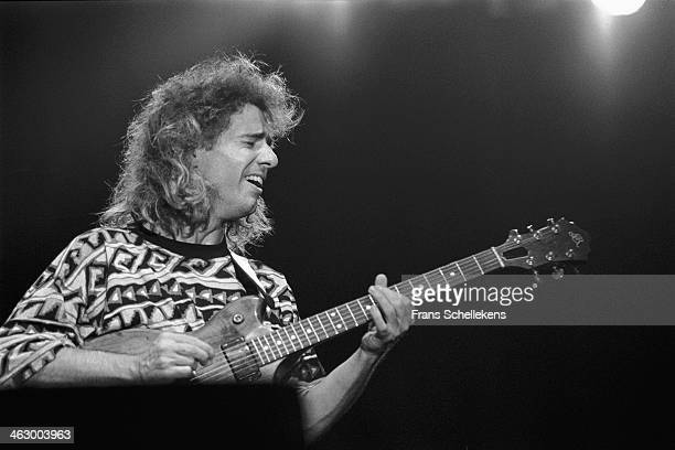 Pat Metheny, guitar, performs with AEOC at the North Sea Jazz Festival in the Hague, the Netherlands on 15 July 1990.
