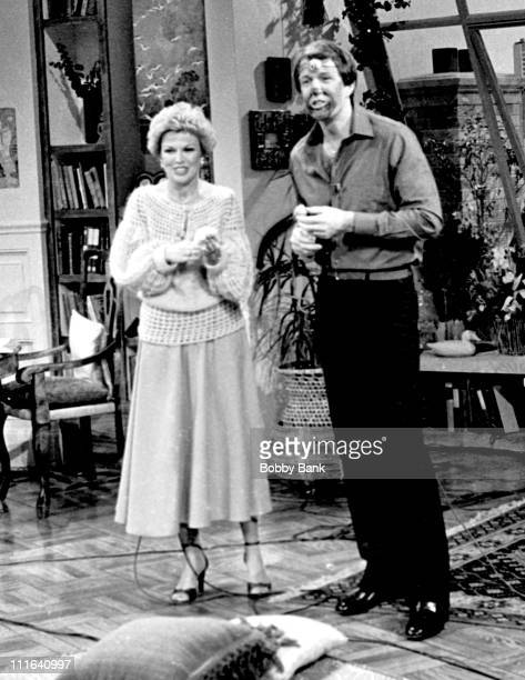 Pat Mitchell and Jack Linkletter during Jack Linkletter and Pat Mitchell Appear on America Alive Halloween Show October 31 1978 at America Alive...