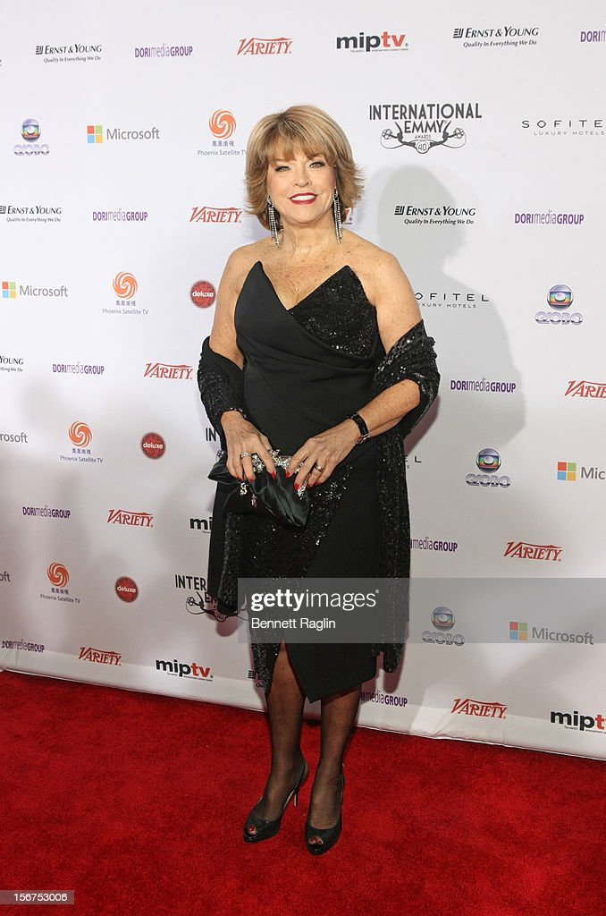 Pat Mitchell attends the 40th Annual International Emmy Awards at the Hilton New York on November 19, 2012 in New York City.