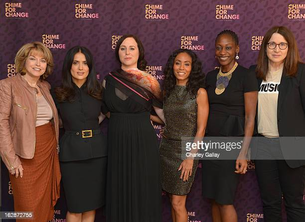 Pat Mitchell President CEO The Paley Center for Media Salma Hayek Pinault PPR Corporate Foundation for Womens Dignity and Rights filmmaker and author...