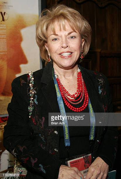 Pat Mitchell President of PBS during 2006 Sundance Film Festival A Lion In The House Premiere at Prospector in Park City Utah United States