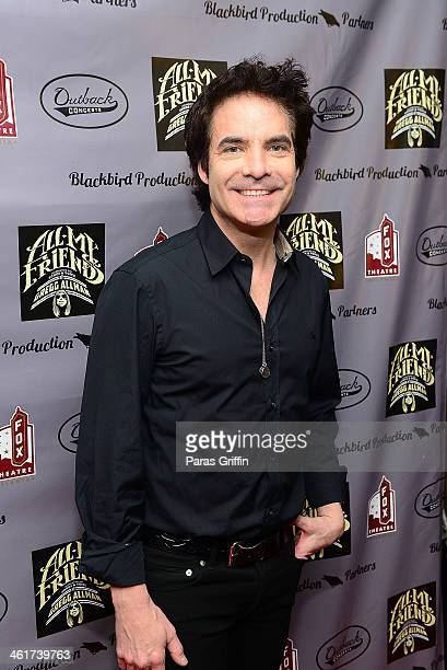 Pat Monahan attends All My Friends Celebrating the Songs Voice of Gregg Allman at The Fox Theatre on January 10 2014 in Atlanta Georgia