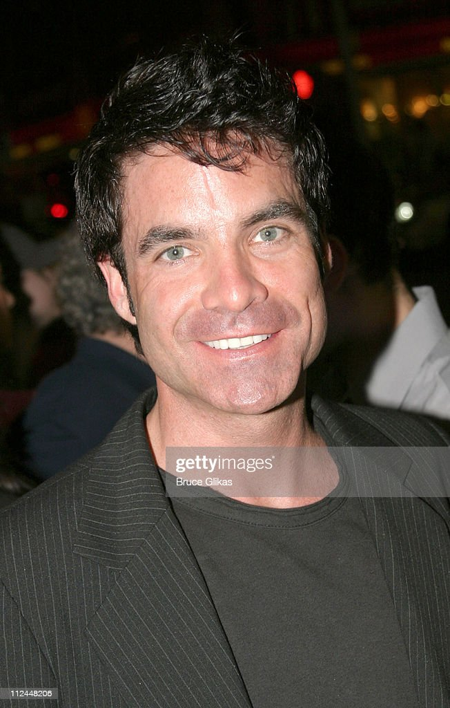 "Pat Monahan of the Band ""Train"" Walking in Times Square"