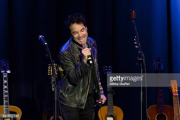 Pat Monahan performs at 3rd annual Acoustic4aCure benefit concert at The Fillmore on May 15 2016 in San Francisco California