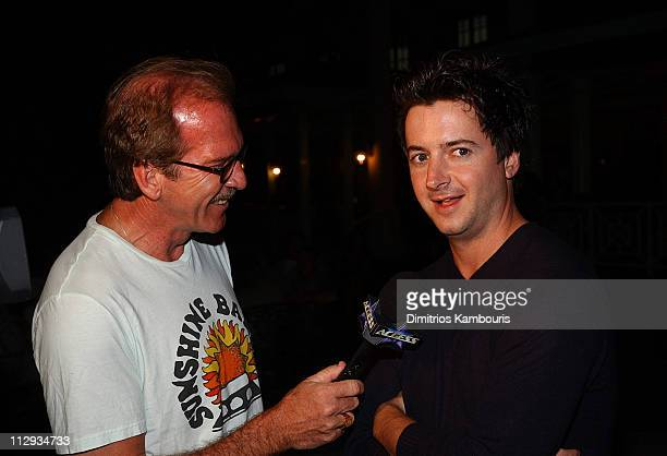 Pat O'Brien and Brian Dunkleman during Beaches Resorts Celebrity Golf Classic to Benefit St. Jude Children's Research Hospital - After-Party at Royal...