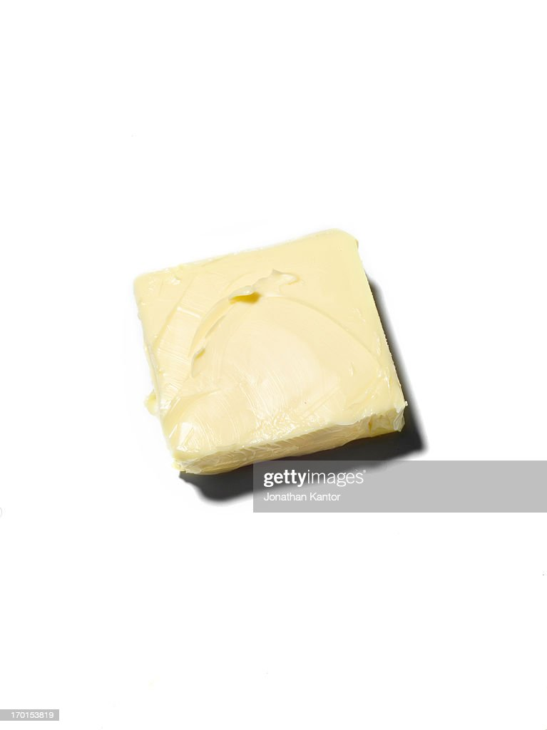 Pat of Butter : Stock Photo