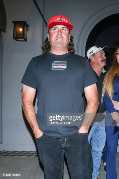Pat Perez is seen on February 11 2020 in Los Angeles California