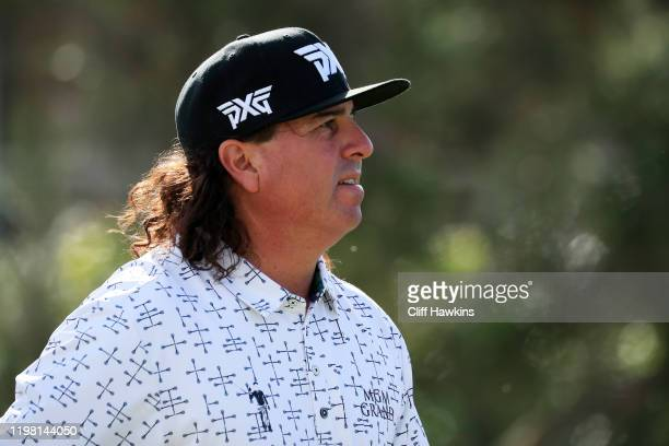 Pat Perez of the United States looks on during practice prior to the Sony Open in Hawaii at the Waialae Country Club on January 07 2020 in Honolulu...