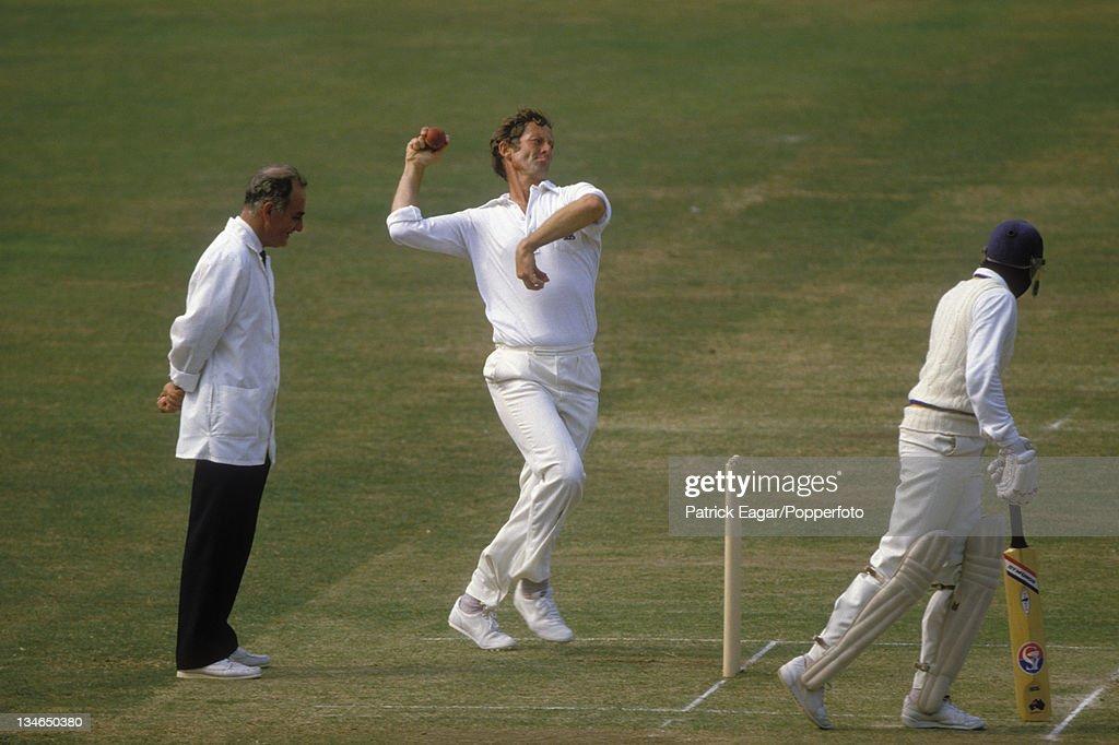 England v Sri Lanka, 1st  Test, Lord's, August 1984 : News Photo