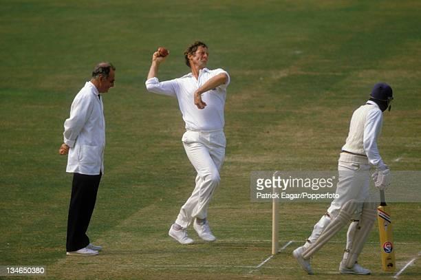 Pat Pocock, England v Sri Lanka, 1st Test, Lord's, August 1984.