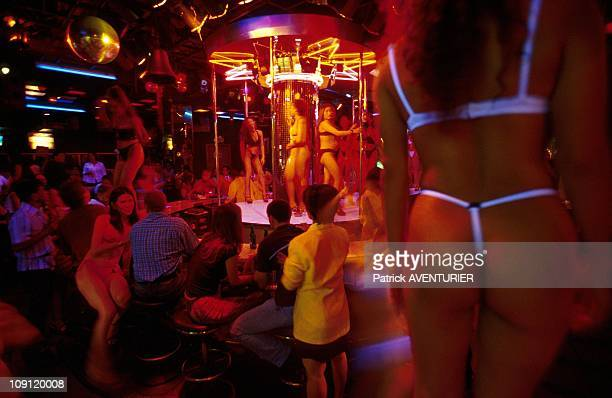 Pat Pong The Hottest Street Of Bangkok On January 1St 2001 In Bangkok Thailand The King Corner Gogo Bar