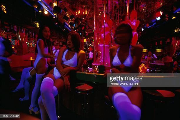 Pat Pong The Hottest Street Of Bangkok On January 1St 2001 In Bangkok Thailand Gogo Girls Of The King Castle