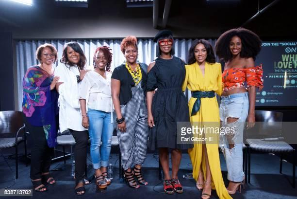 Pat Prescott D'Angela Proctor Cas Sigers Beedles Tia Smith Tasha Smith Niatia 'Lil Mama' Kirkland and Tiffany Blakc attend the SAGAFTRA Foundation...