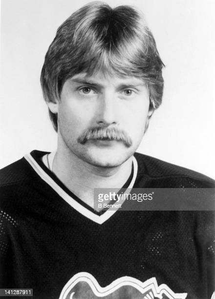 Pat Price of the Pittsburgh Penguins poses for a portrait in September 1981 in Pittsburgh Pennsylvania