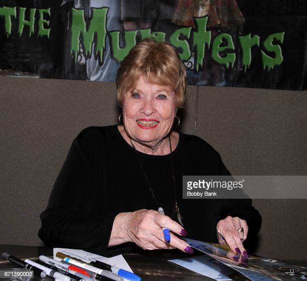 Pat Priest of The Munsters attends Chiller Theatre Expo Spring 2017 at Hilton Parsippany on April 21 2017 in Parsippany New Jersey