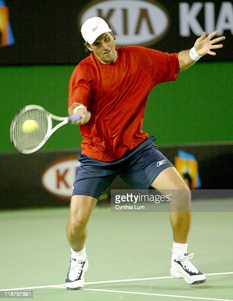 Pat Rafter making his first Australian Open appearance since 2001 partnered with fellow Aussie Josh Eagle but lost his opening round 26 57 against...
