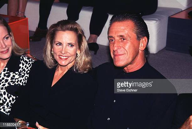 Pat Riley during Giorgio Armani Party at Lexington Armory in New York City New York United States