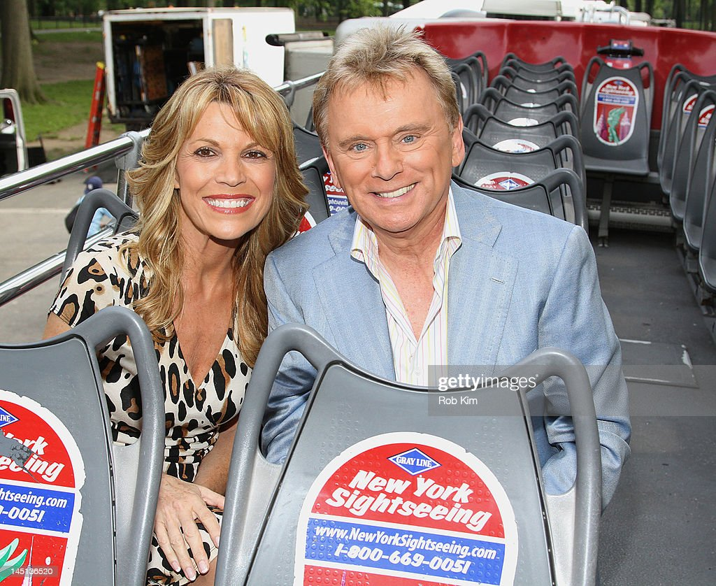 Vanna White Nude Photo Great pat-sajak-and-vanna-white -of-wheel-of-fortune-are-honored-by-gray-picture-id145136520