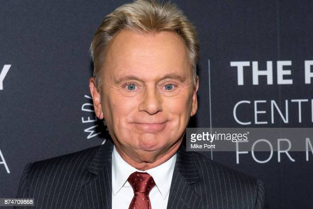 Pat Sajak attends The Paley Center For Media Presents: Wheel Of Fortune: 35 Years As America's Game at The Paley Center for Media on November 15,...