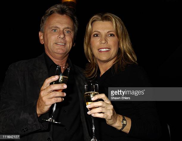 """Pat Sajak during """"Wheel of Fortune"""" Celebrates Its 4,000th Episode in New York City at Radio City Music Hall in New York City, New York, United..."""
