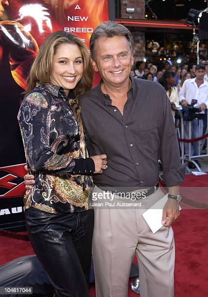 Pat Sajak wife during 'XXX' Premiere in Los Angeles at Mann's Village in Westwood California United States