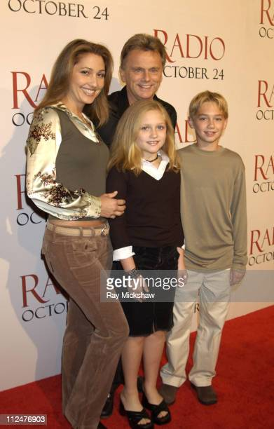 Pat Sajak wife Lesley Daughter Maggie and Son Patrick