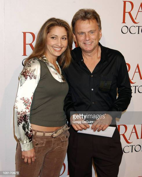 Pat Sajak Wife Lesley during Radio Premiere Arrivals at Academy Theatre in Beverly Hills California United States