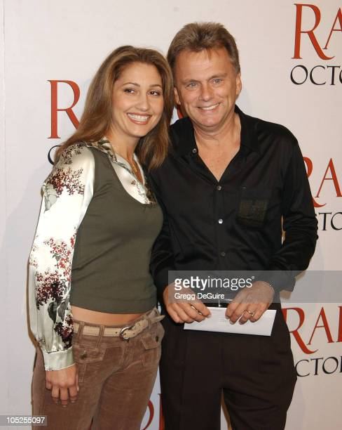 Pat Sajak Wife Lesley during 'Radio' Premiere Arrivals at Academy Theatre in Beverly Hills California United States