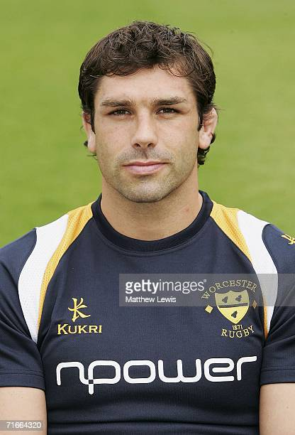 Pat Sanderson of Worcester Warriors during the Worcester Warriors Media Day at Sixways Stadium on August 17, 2006 in Worcester, England.
