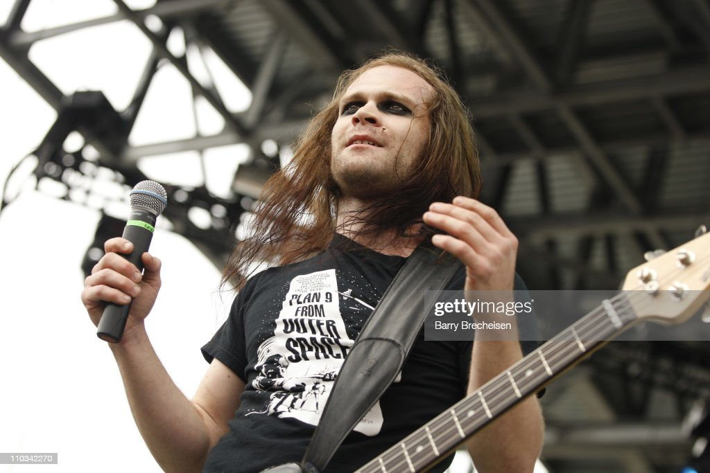 Pat Seals of Flyleaf performs during the 2009 Rock On The Range festival at Columbus Crew Stadium on May 16, 2009 in Columbus, Ohio.