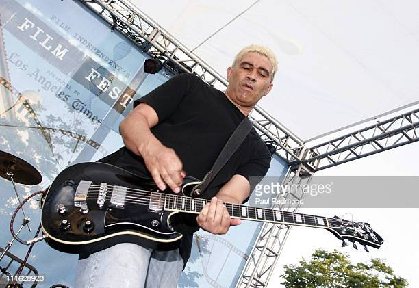 Pat Smear of The Germs during 2007 Los Angeles Film Festival The Germs Casket Salesmen Kelli Maroney and Jettison Babies at Festival Promanade On...