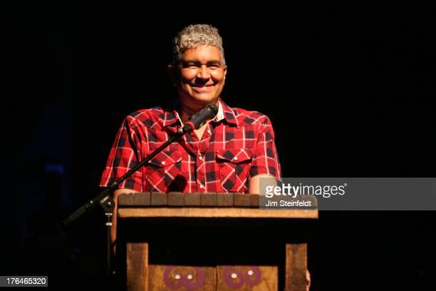 Pat Smear of The Germs honors Joan Jett at the House of Blues in Los Angeles, California on August 1, 2013.