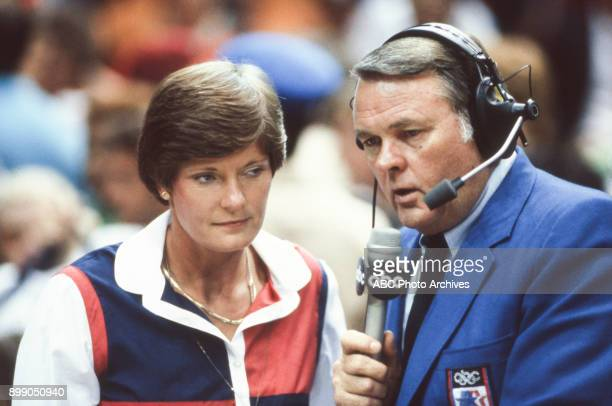 Pat Summitt Keith Jackson interview at the 1984 Summer Olympics