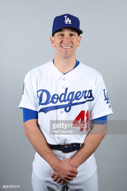Pat Vindette of the Los Angeles Dodgers poses during Photo Day on Thursday February 22 2018 at Camelback Ranch in Glendale Arizona