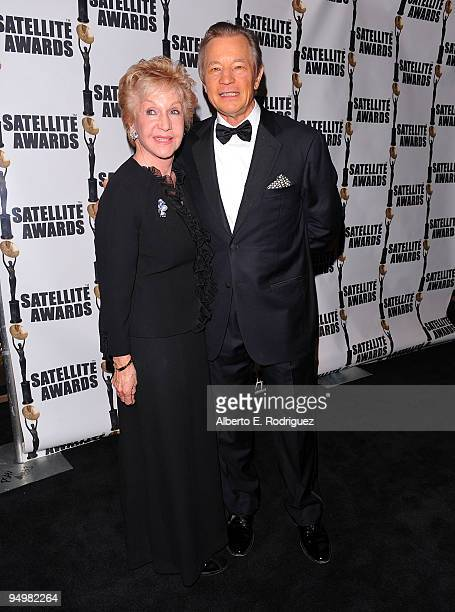 Pat York and actor Michael York arrive at the International Press Academy's 14th Annual Satellite Awards on December 20 2009 in Los Angeles California