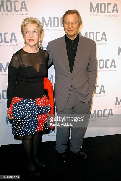 Pat York and Michael York attend MOCA Skin and Bones Opening Night Exhibit and Gala at Los Angeles on November 18 2006