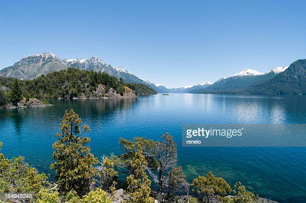 patagonia - bariloche stock pictures, royalty-free photos & images
