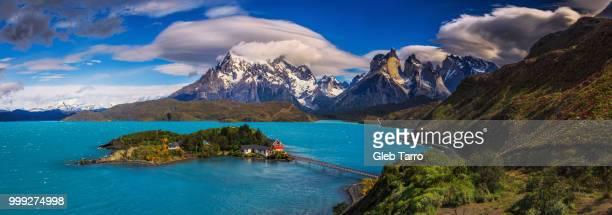 Patagonia-Lake Pehoe-Torres del Paine