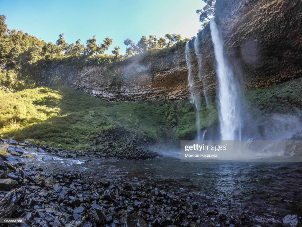 Patagonian cascade : Stock Photo